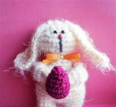 Knit Easter Bunnies Knitting and Crochet